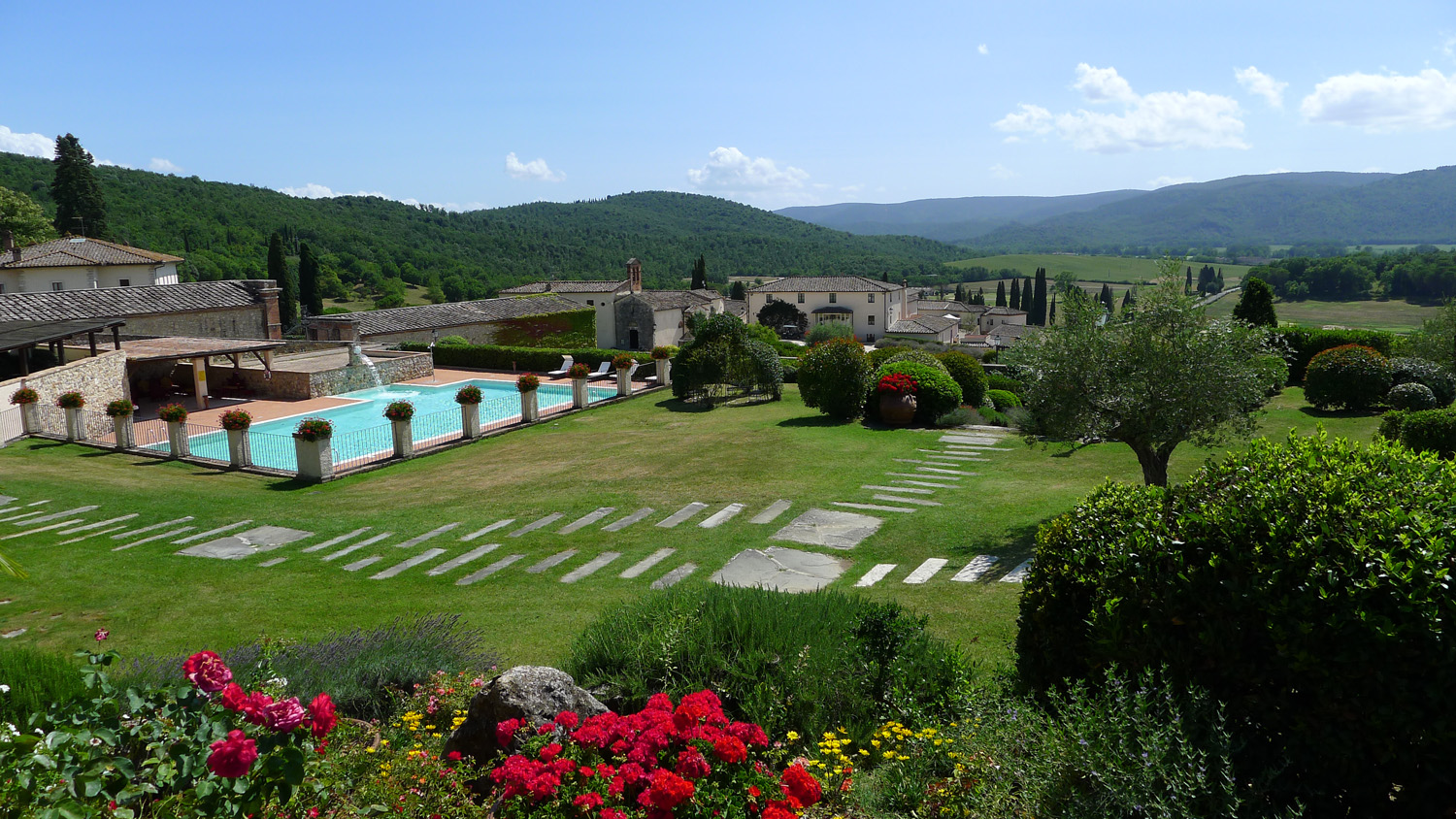 La Bagnaia Golf & Spa Resort Siena Curio Collection by Hilton - Pool.JPG